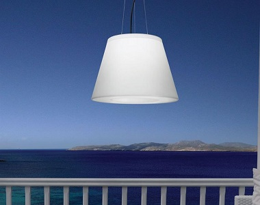 Vulcano, lampa do bytu na zavesenie