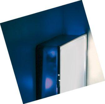 Sklenená lampa na strop Box Quadrata, AiLati
