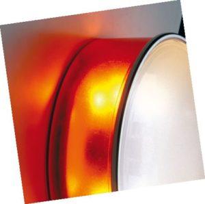 Box rotonda sklenené osvetlenie na strop