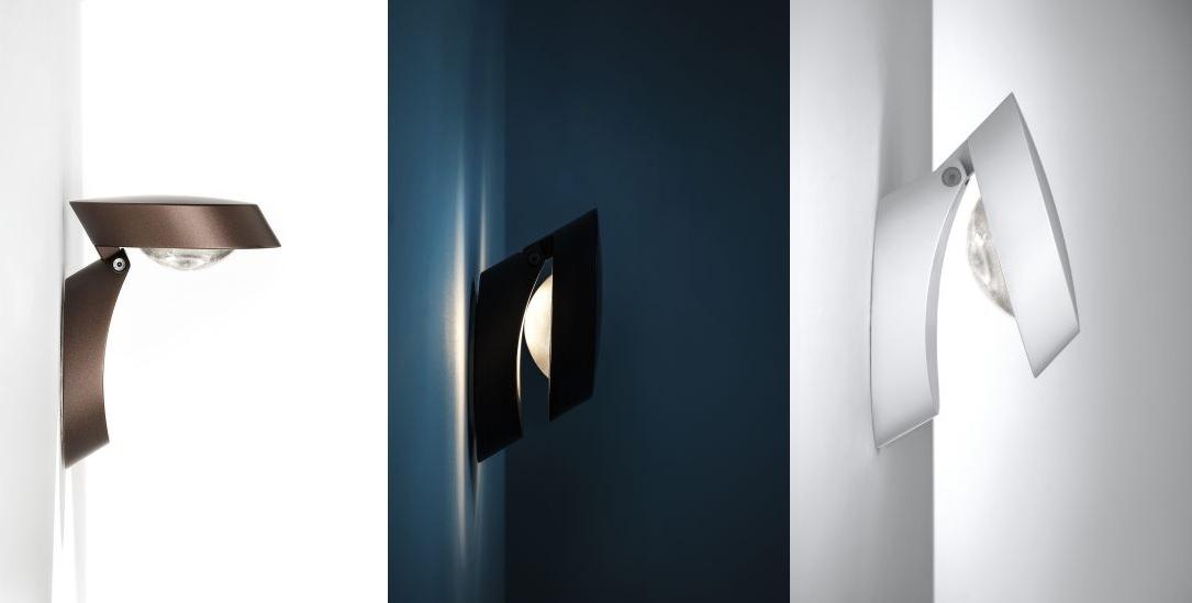 Pin-Up- nástenné svietidlo z kovu