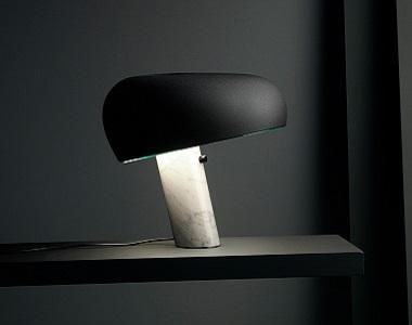 Stolná lampa k posteli Snoopy