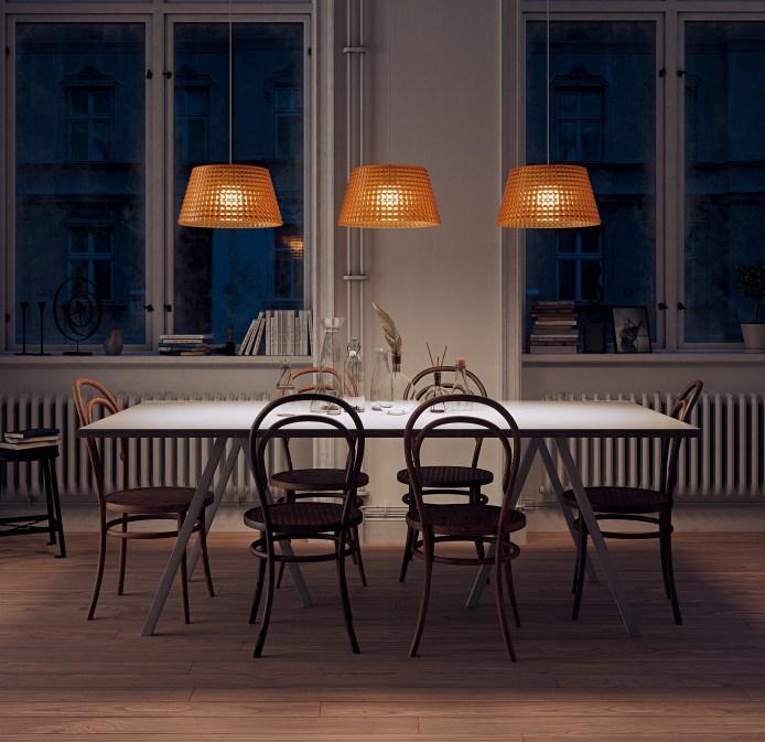 Tiffany lampa do domu, na stôl