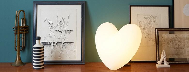 Dizajnové lampy Slide, do bytu