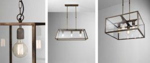 Lampy z kovu do bytu, do domu